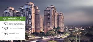 Book Flats in ACE Parkway on Pay Only 5% Till Feb