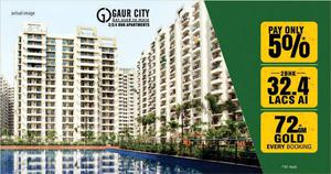 Buy 2 BHK Apartments @22 Lacs* In Ajnara Panorama at Yamuna