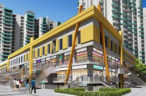 Supertech Eco Bazaar shops space in Noida Extension