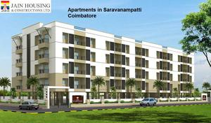 2 bhk, 3 bhk Apartments in Saravanampatti