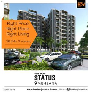 3 bhk flat in Mehsana | Luxurious apartment | New