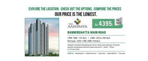 3 bhk flats in bannerghatta road | luxury apartments in