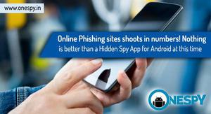 Hidden Spy App at this time saves from online phishing