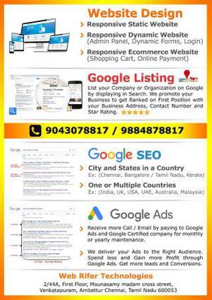 SEO Company in Chennai, SEO Services in Chennai