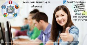 Selenium Training in Chennai | Best Selenium Training in
