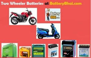 Buy Scooter/Bike Battery Online at Best Prices -