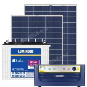 Buy Solar System Online - Luminous, Microtek, Su-kam: