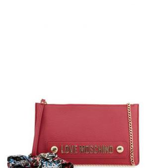 Love Moschino Red Scarf Wristlet at Darveys