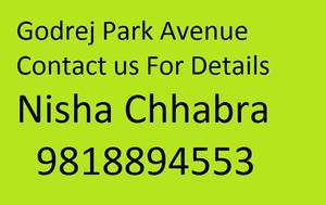 Nisha Chhabra 98l8894553 Godrej Park Avenue Greater Noida