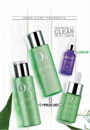 O3+ Pore Clean up kit and Vitamin C Booster