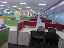 Sq.ft Furnished office space at double road