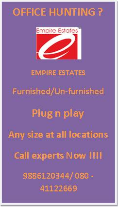 sq ft superb office space for rent at White Field,