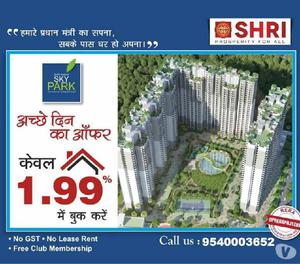 Book Your Dream Home At 1.99 lac In Shri Radha Sky park