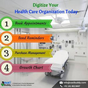 Digitize Your Health Care Organization Today with Vaxi Buddy