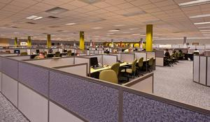 Sq.ft Furnished office space at mg road