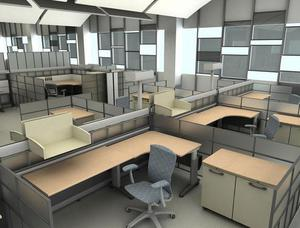 commercial office space for rent at Saltlake sector v