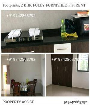 FOOTPRINTS: Brand New FULLY FURNISHED 2 BHK Flat RENT