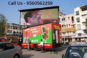 LED Video Van on hire in Hyderabad 9560562259