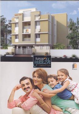 2 & 3 bhk flats for sale at Vijaylakshipuram, Ambattur