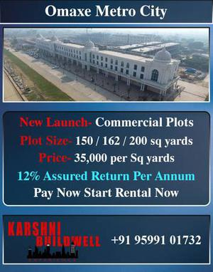 Commercial Plots with Assured return in Raebareli Road