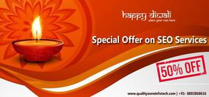 Diwali Offers 50% Discount on SEO Services For more update