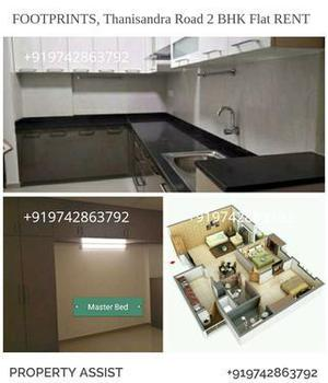 FOOTPRINTS: Brand New Semi FURNISHED 2 BHK Flat RENT