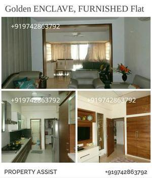 Golden ENCLAVE: 3 BHK FULLY FURNISHED East Facing Flat