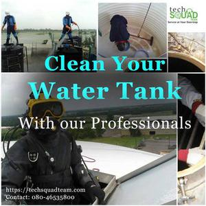 Find Professional water tank cleaning in Bangalore