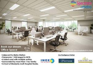 Spectrum@metro - Book Office space in noida at an attractive