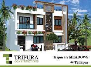 3 BHK luxury villas in Tellapur Hyderabad