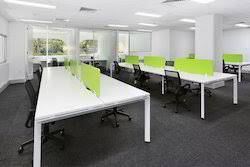 sq.ft, furnished office space at brunton road