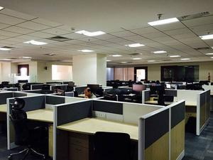 sqft, commercial office space at infantry road
