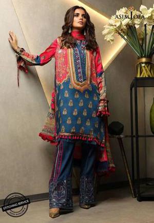 Asim Jofa Charmeuse Silk  original pakistani collection
