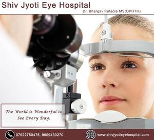 Best Eye Hospital in Ahmedabad - Shiv Jyoti Eye Hospital