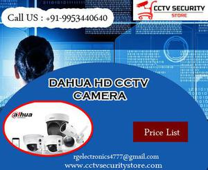 Buy DAHUA HD and IP CCTV Camera at lowest price