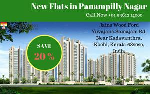 FLATS FOR SALE IN PANAMPILLY NAGAR COCHIN
