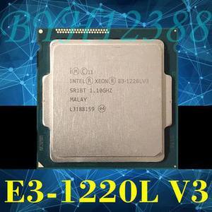 Intel Xeon E31220L V3 LGA 1150 SR1BT 11 GHz 13W CPU Proces