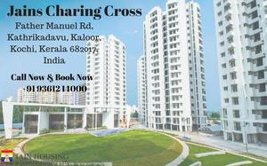READY TO MOVE IN FLATS FOR SALE IN KATHRIKADAVU COCHIN