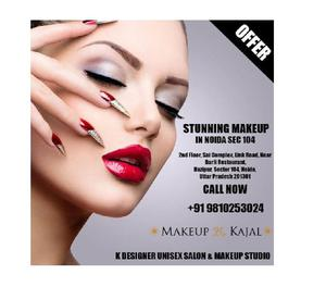 Best bridal makeup artist in noida sector 104