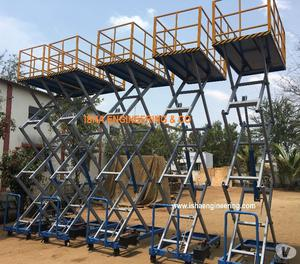 Movable Scissor Lift Manufacturers and Exporters from India