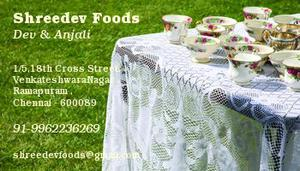 Shreedev Catering Services - All over Chennai