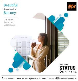 2 bhk and 3 bhk apartments in Mehsana   32 plus Amenities