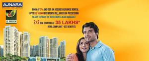 Ajnara Le Garden available for sale 2 3 4 BHK Call Us 9