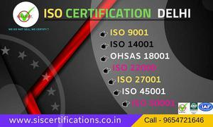 ISO  Certifications in Delhi at best price