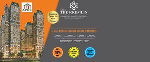 Apex The Kremlin 2,3 BHK call us: +
