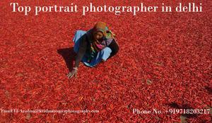 Top portrait photographer in delhi