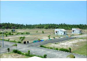 3.9 LAKHS RESIDENTIAL PLOTS FOR SALE IN ECR