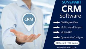 CRM Software in India - SunSmart Technologies