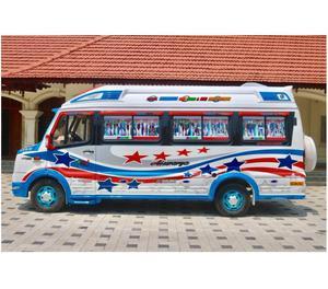 Cheap Traveller rental service in Cochin, Kochi,