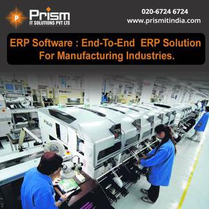 ERP solutions and software company in pune for manufacturing